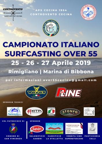Campionato Italiano Over 55 - 2019